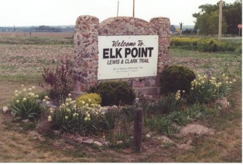 Elk Point Sign
